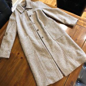 Tweed GAP long coat